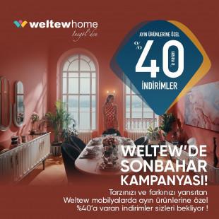 Weltew Home'da Sonbahar Kampanyası